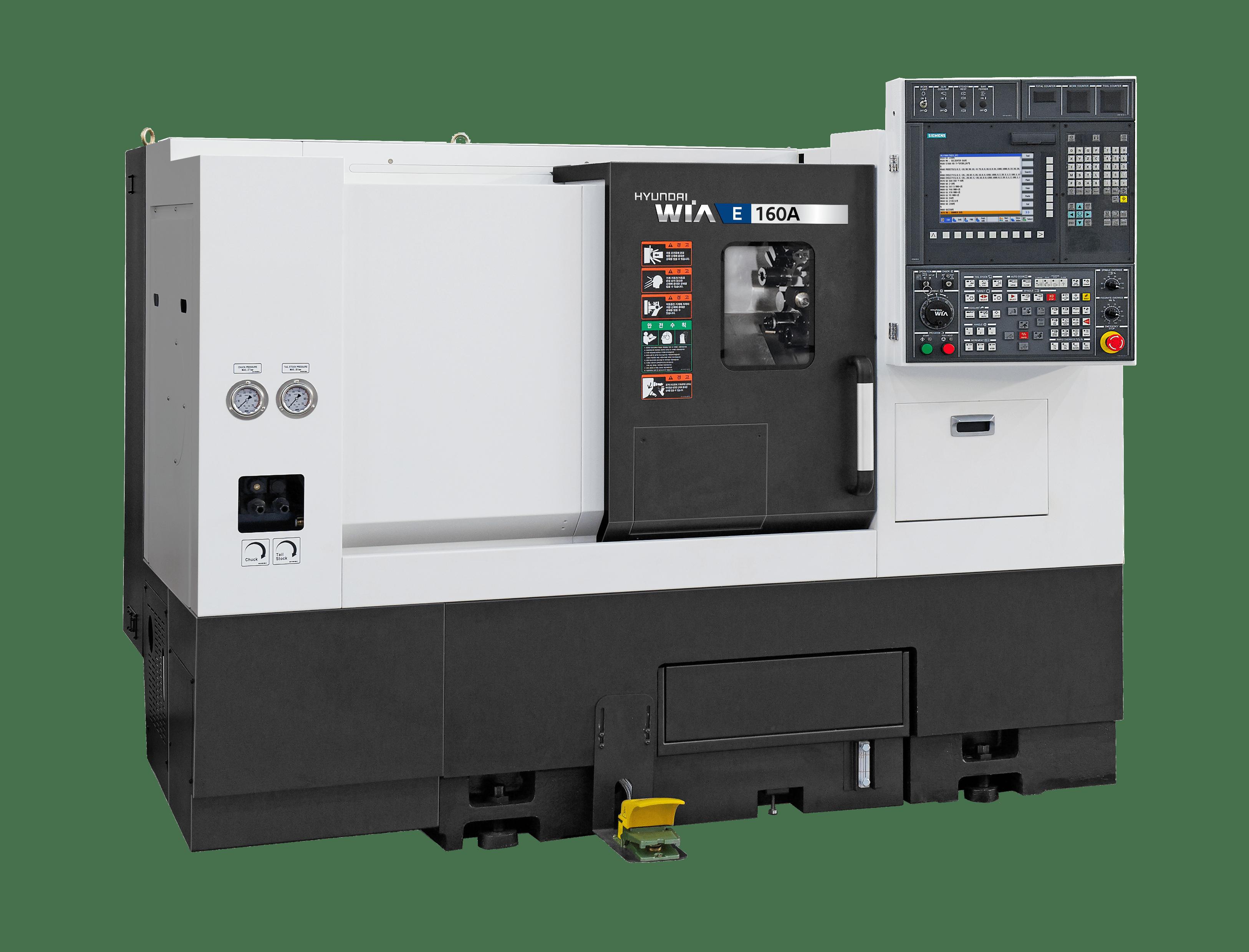 Hyundai Wia E160A/LA/LMA Compact Turning Center