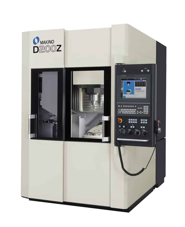 Makino D200Z D-Series 5 Axis vertical machine