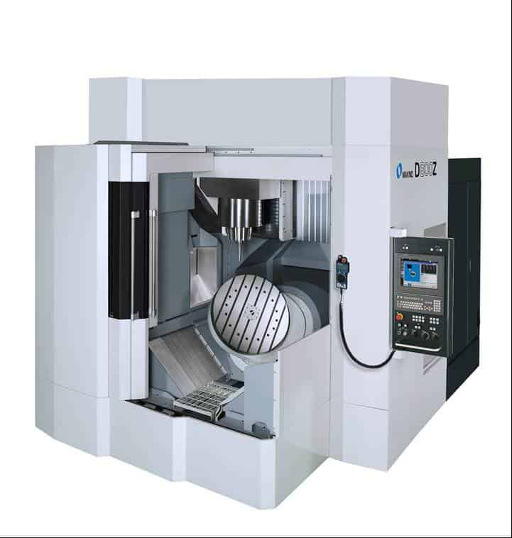 D800Z (40 Taper) D-Series 5-Axis vertical machine